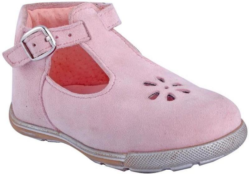 Beanz Girls Strap Jutis(Pink)
