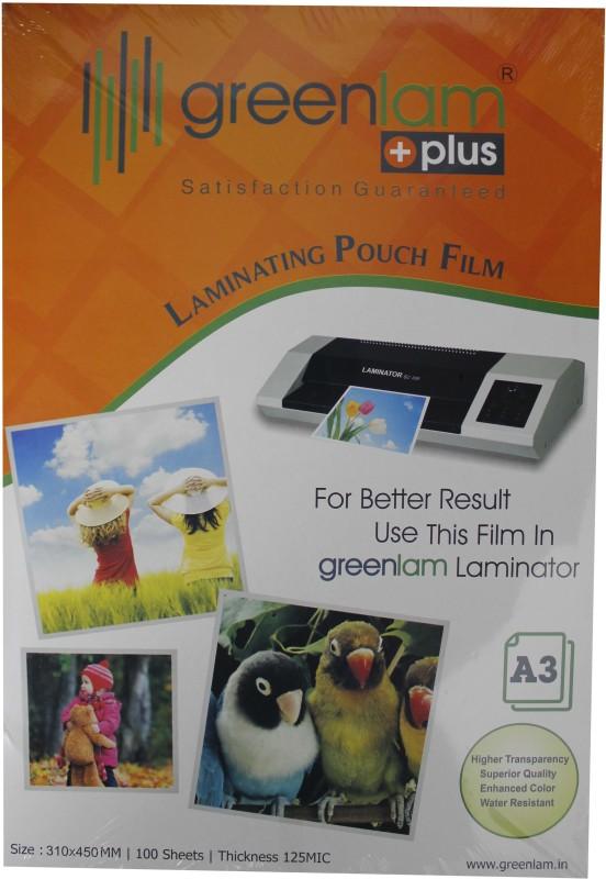GreenLam A4 Laminating Sheet(125 mil Pack of 200)