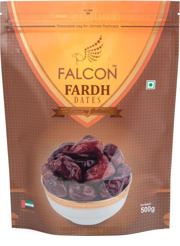 Falcon Fardh Seeded Dates Pouch-500g Dates(2 x 250)