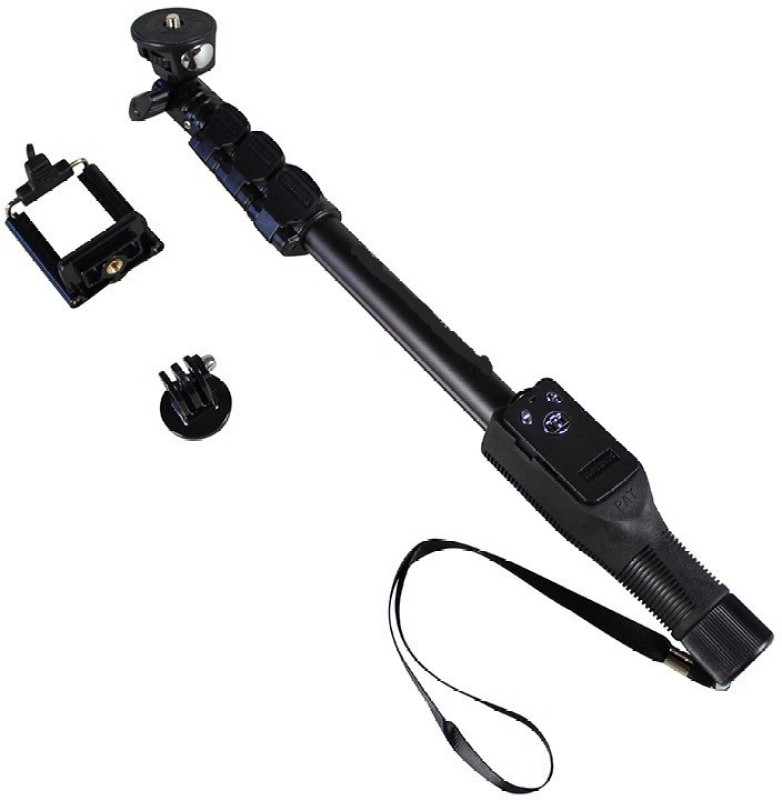 5PLUS Bluetooth Selfie Stick(Black, Remote Included)