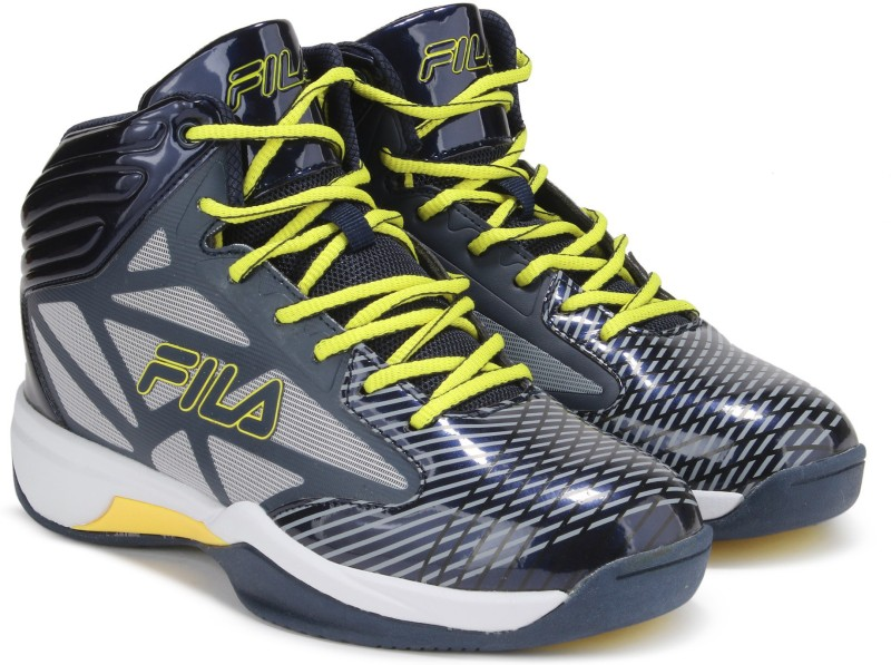 Fila ZONE BasketBall Shoes For Men(Navy)