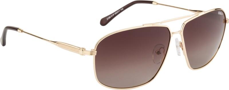 IDEE Aviator Sunglasses(Brown)