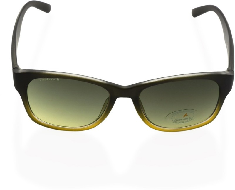 Fastrack Rectangular Sunglasses(Green)
