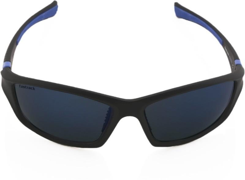 Fastrack Sports, Wrap-around Sunglasses(Grey)