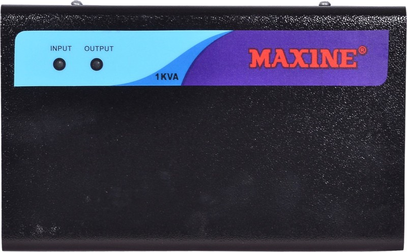 maxine 1000watts LED/LCD TV Stabilizer up to 55inch (100% copper -Heavy duty)(Black)