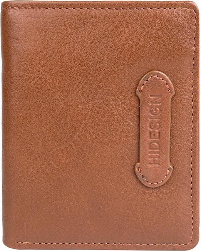 Hidesign Men Tan Genuine Leather Wallet(4 Card Slots)