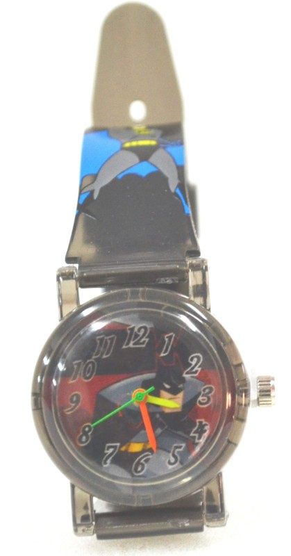 Gubbarey Best Seller Batman Transparent Strap Watch - For Boys