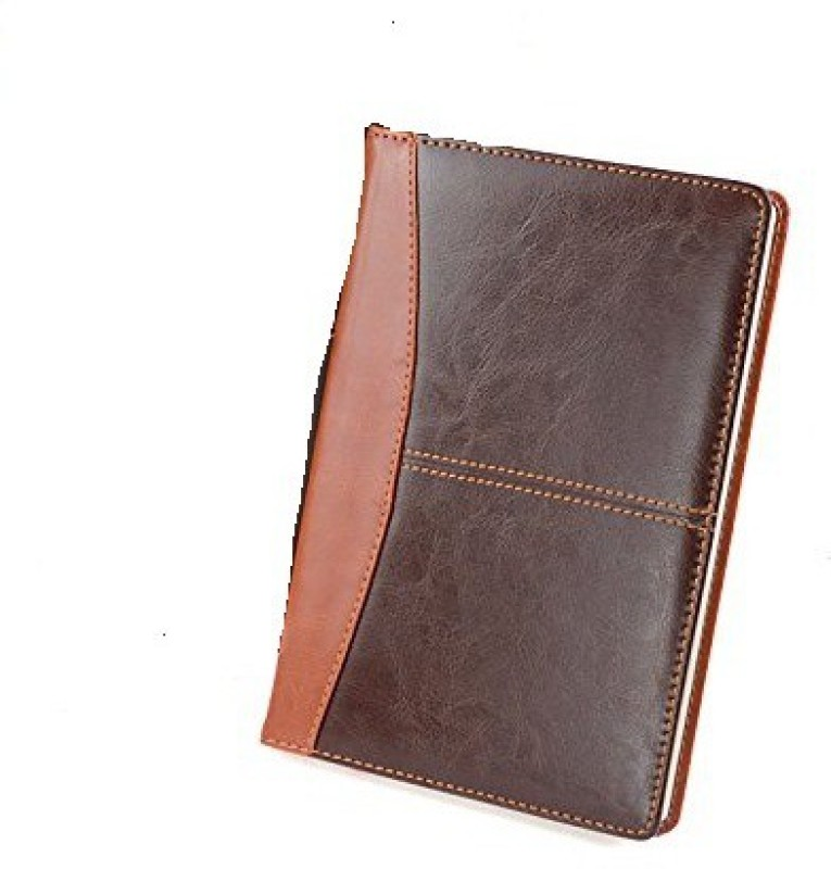 Skywalk Faux Leather Journal Diary A5 Journal 100 Pages(Brown)