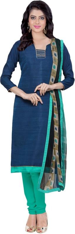 Divastri Jute Solid Salwar Suit Dupatta Material(Un-stitched)