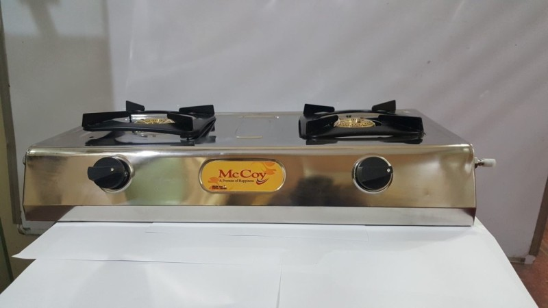 mccoy Steel Manual Gas Stove(2 Burners)