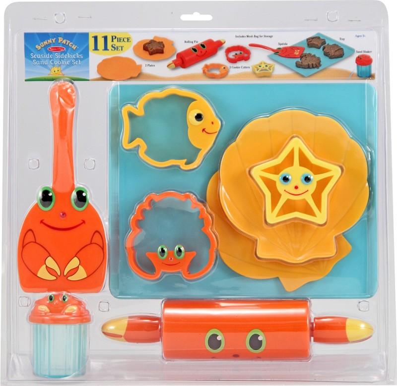 Melissa and doug Seaside Sidekicks Sand Cookie Set  Sandbox