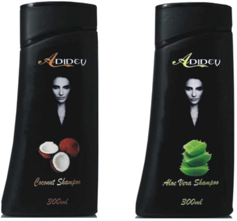 Adidev Herbals Natural Shampoo Combo Pack(600 ml)