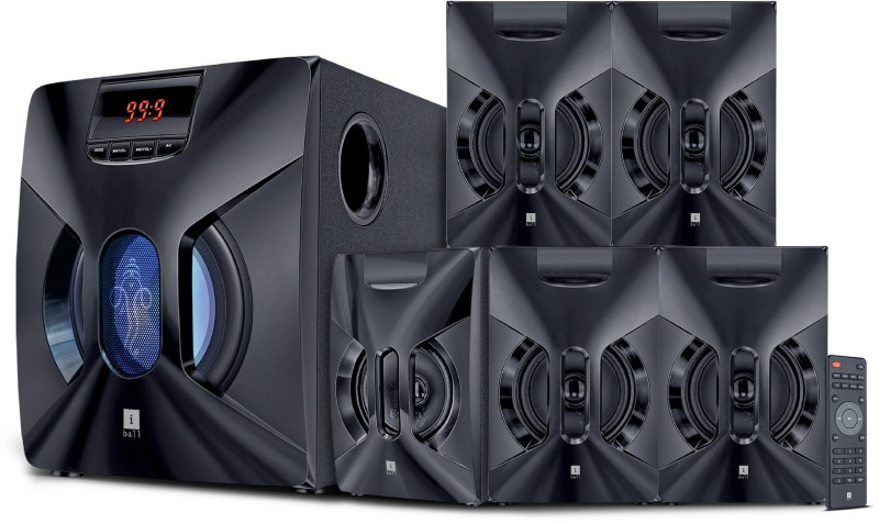 Iball Boom Box BT 48 W Bluetooth Home Audio Speaker(Black, 5.1 Channel)
