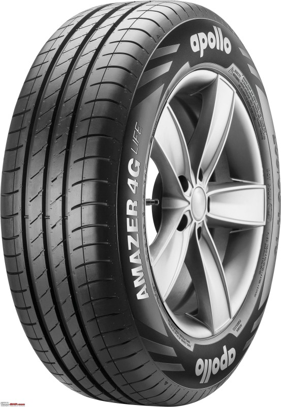 APOLLO Amazer 4G LIFE 155/65 R13 73T Tubeless Car Tyre 4 Wheeler Tyre(155/65 R13 73T Tubeless Car Tyre, Tube Less)