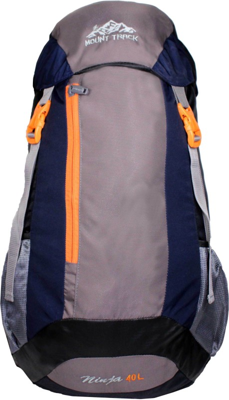 Mount Track 9101 Ninja Hiking backpack Rucksack - 40 L(Black, Blue)