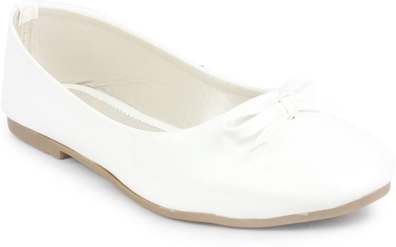 London Steps Women White Bellies