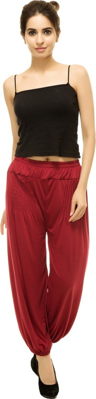 pietra Solid Viscose Women Harem Pants