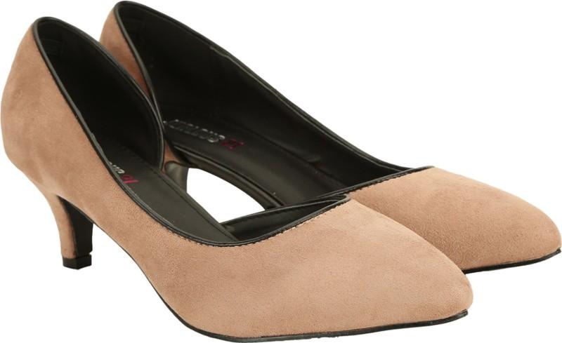 Jealous 21 Women Pink Heels