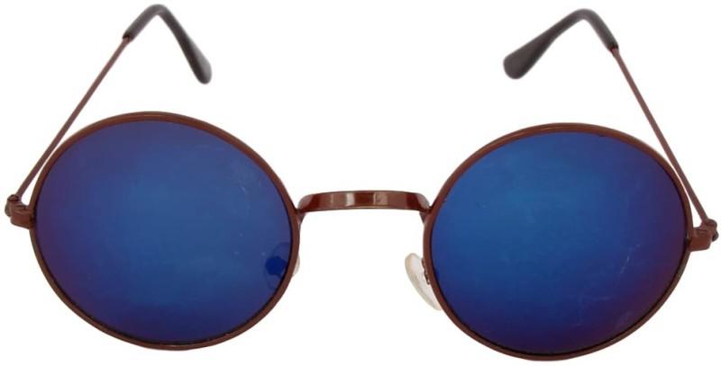PRINCE ENTERPRISES Round Sunglasses(Blue) image