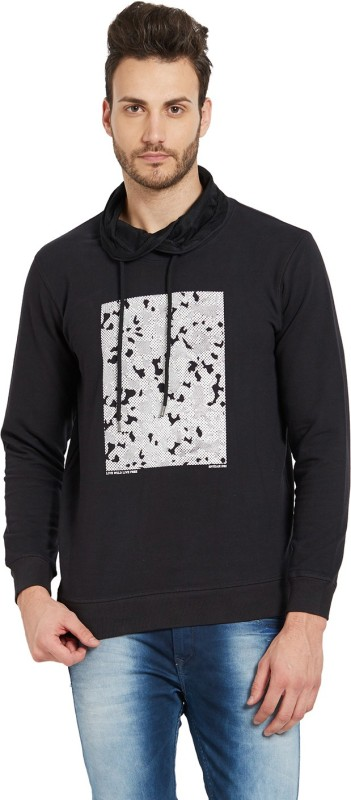Spykar Full Sleeve Printed Mens Sweatshirt