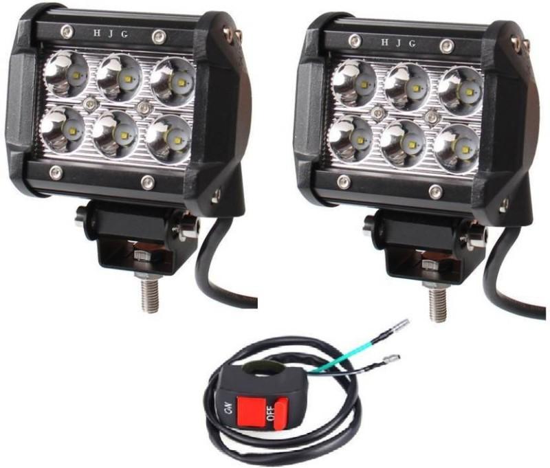 JBRIDERZ LED Fog Light For Universal For Bike Universal For...