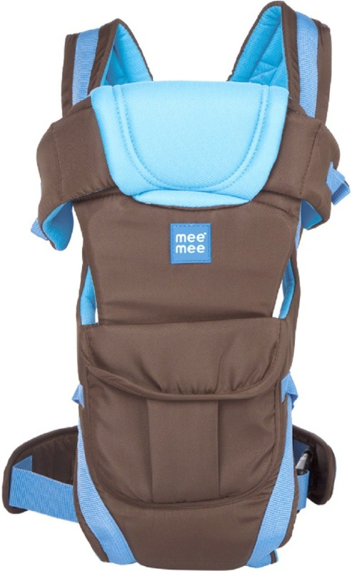 MeeMee Lightweight Breathable Baby Carrier (Blue) Baby Carrier(Blue, Front carry facing out)