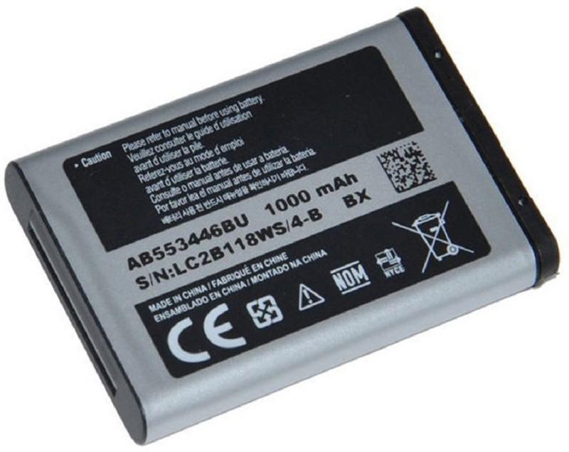 amazing Battery - AB553446BU 1000 mAh Li-Ion Battery for Samsung B100 / B2100 / C3300K / C5212 / E1110 I320/ M110 / L258(Black)