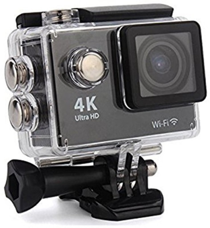 Royal Mobiles 4K Ultra HD 12 MP WiFi Waterproof Digital Action & Sports Body only Sports & Action Camera(Black,Grey, Silver)