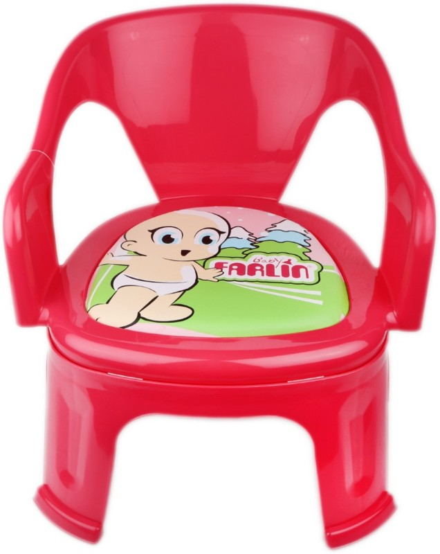 Farlin Small Cute Baby Chair For Kids(Pink)