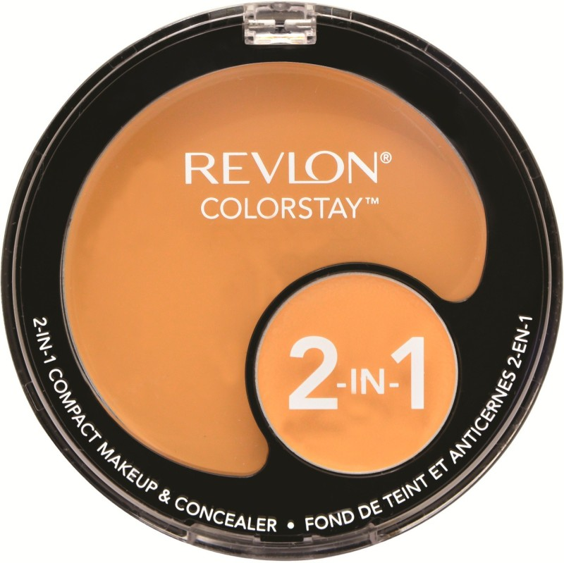Revlon COLORSTAY 2 IN 1 COMPACT MAKE UP AND CONCEALER Compact - 11 g(Sand beige)