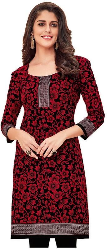 Giftsnfriends Cotton Printed Kurti Fabric(Un-stitched)