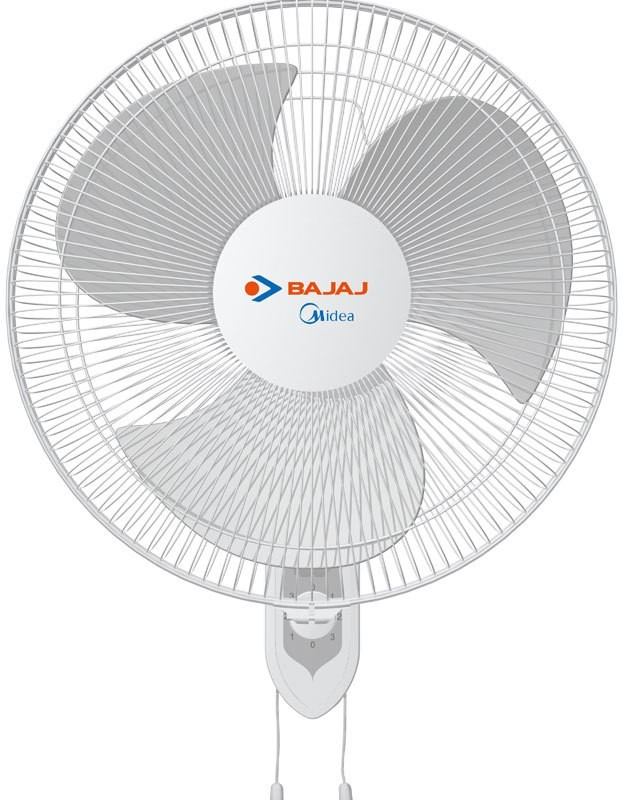 Bajaj Midea BW 2200mm 3 Blade Wall Fan(White)