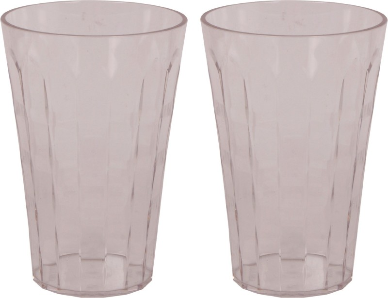 Tupperware Glass Set(475 ml, Clear, Pack of 2)