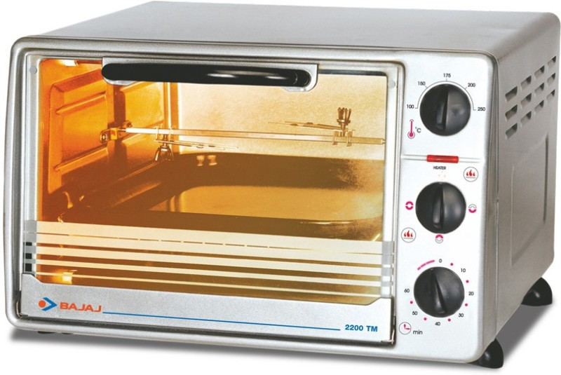 Bajaj 22 Litre 2200TMSS Oven Toaster Grill OTG Lowest Price in