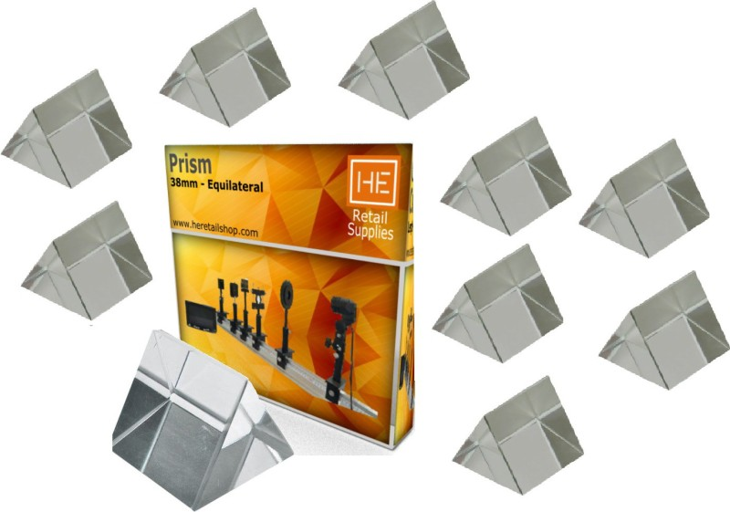 HE Retail PACK OF 10 PRISM Solid Prism
