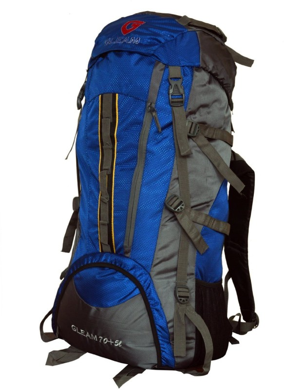 Gleam 2209 Climate Proof Mountain / Hiking / Trekking / Campaign Bag / Backpack 75 ltrs Rucksack - 75 L(Multicolor)