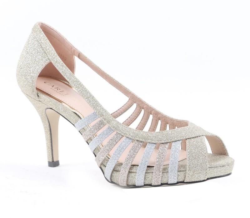 4. Carlton London Women GOLD Heels