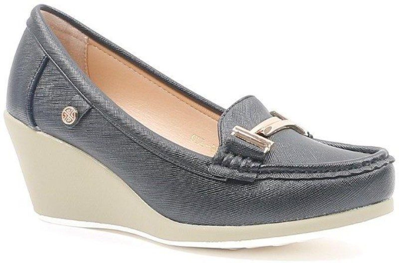 CL by Carlton London CLL-4053 Loafer For Women(Black)