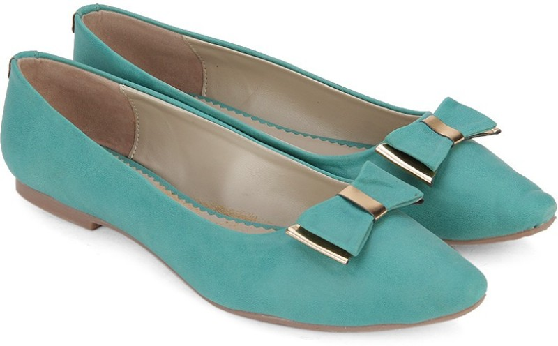 Bata METALLIC BelliesGreen