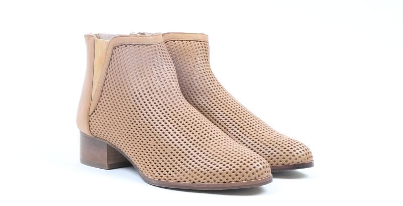 Carlton London CLL-3908 boot For Women(Tan)