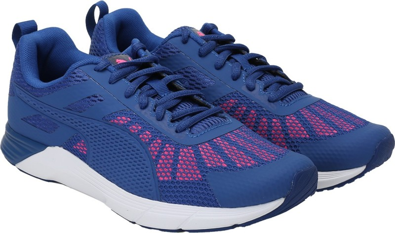 Puma Propel Wn s Running Shoes For Women(Blue, Pink)