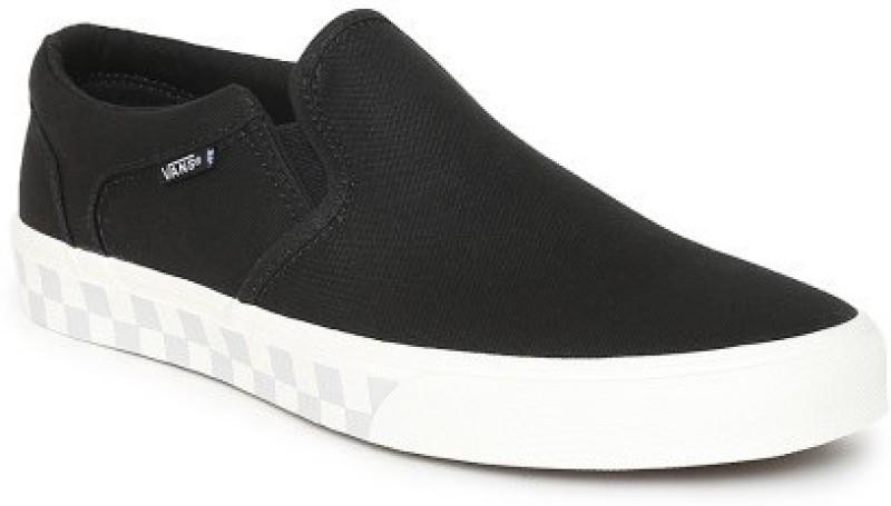 Vans ASHER Loafers For Men(Black)