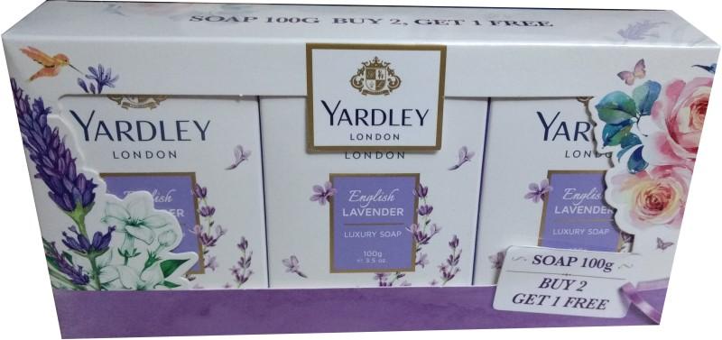 Yardley London English Lavender(300 g, Pack of 3)