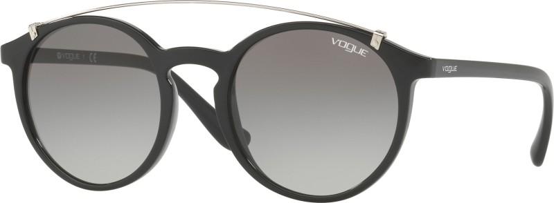 Vogue Round Sunglasses(Grey)