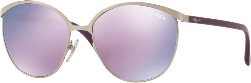 Vogue Round Sunglasses(Pink)