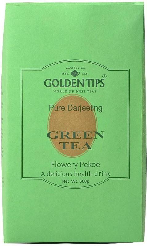 Golden Tips Darjeeling Green Tea - Paper Pack Green Tea(500 g, Box)