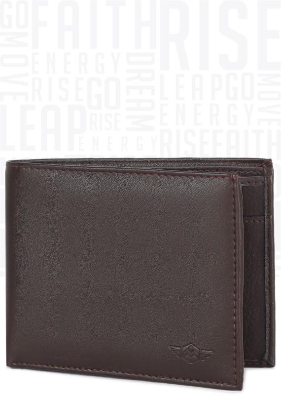 Metronaut Men Brown Artificial Leather Wallet(5 Card Slots)