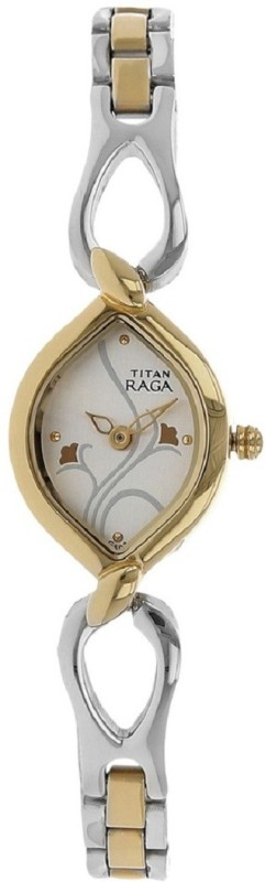 Titan Raga Stylish Silver Dial Women's Watch image