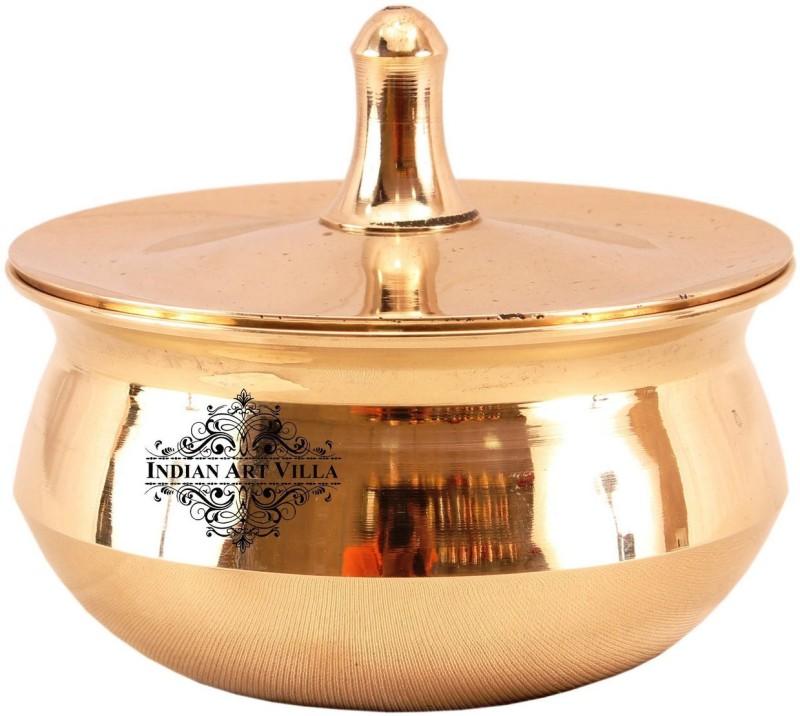 IndianArtVilla Bronze Casserole Casserole(780 ml)
