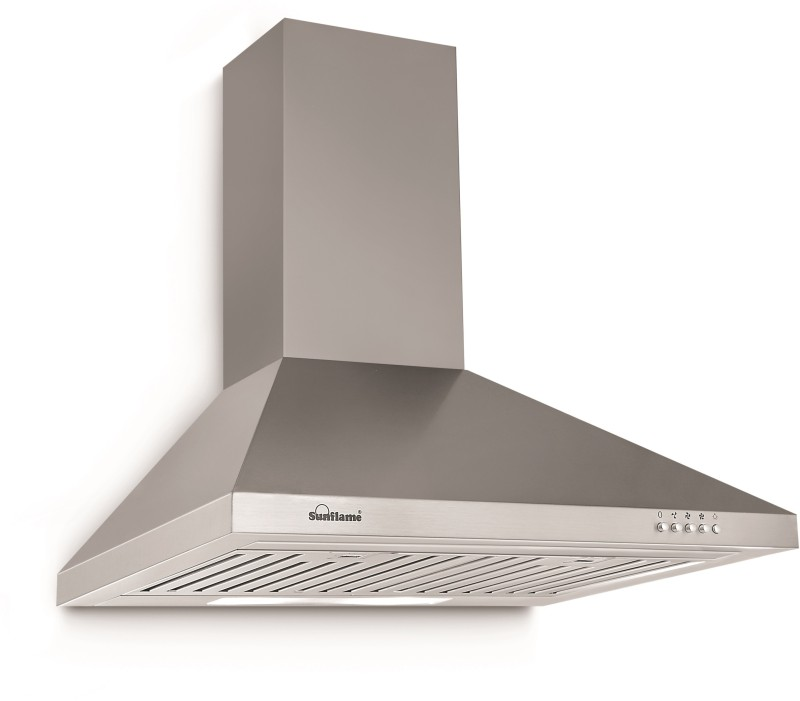 Sunflame FUSION 60 SS BF Wall Mounted Chimney(Stainless Steel 850)
